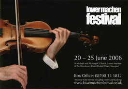 Colwinston Trust Support of Lower Machen festival