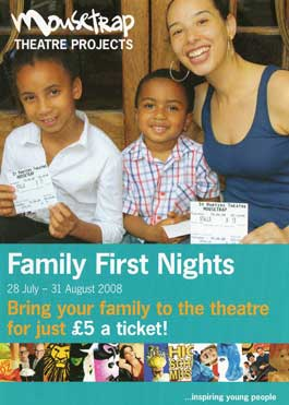 Mousetrap Theatre Projects - Family First Nights