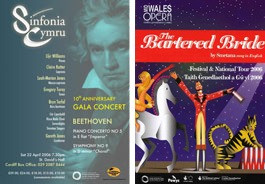 Colwinston Trust Support of Sinfonia Cymru & The Bartered Bride